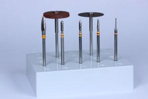 rifinitura di leghe al cromo-cobalto